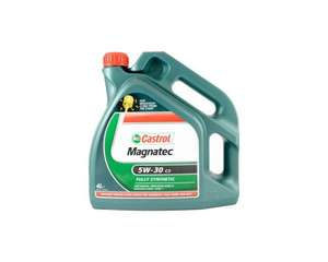 Castrol Oil 4L Fully Synthetic Reduced £13.50 @ ASDA