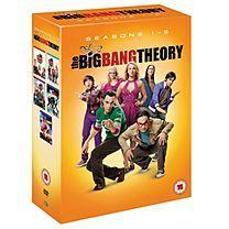 Big Bang Theory Complete Series 1 - 5 (12) - £60 Grattan