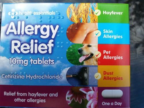 Health Essentials Allergy Relief 79p Antihistamines @ Aldi