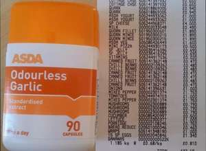 90 Asda One a Day Odourless Garlic Tablets 200mg 2p
