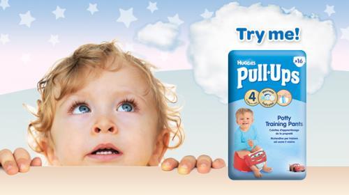 Free sample of Huggies® Pull-Ups® pants