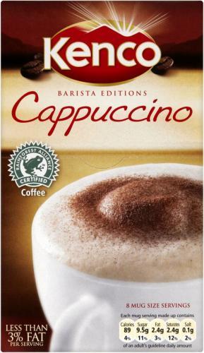 Kenco Cappuccino/Caffe Latte (8 sachets) @ TESCO for £1.30