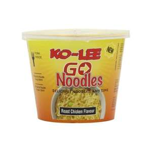 amazon Ko-lee Go Cup Noodles Roast Chicken Flavour 65 g (Pack of 12)  subscribe and save deal £4.93 for 12