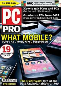 3 issues of PC Pro for £1 with free earphones
