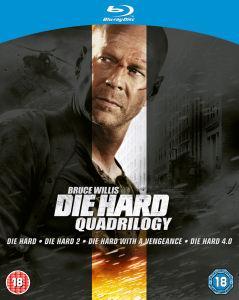 Die Hard Quadrilogy on Blu Ray - £9.95 delivered @ Zavvi