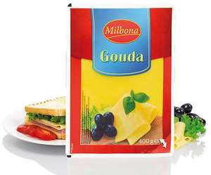 Gouda cheese slices 400g £0.94 @ Lidl