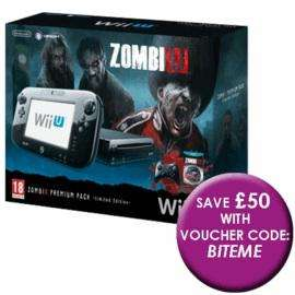 Nintendo Wii U Zombi U console for £249.99 (with code) @GAME.co.uk