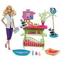 Barbie I Can Be Panda Caretaker Playset & Doll at Tesco Direct - £13.50