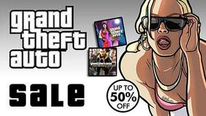 Gta sale on PSN store this week for PS3/PSVita games upto 50% off plus 10% PS+ discount