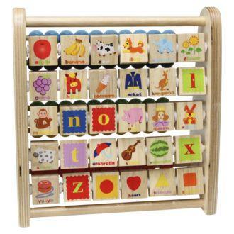Grow & Play Alphabet & Bead Abacus, £6.49 Click + Collect @ Sainsburys