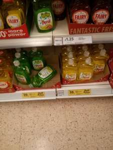 Persil Apple fizz and Lemon Burst 500ml for 50p instore @ Tesco
