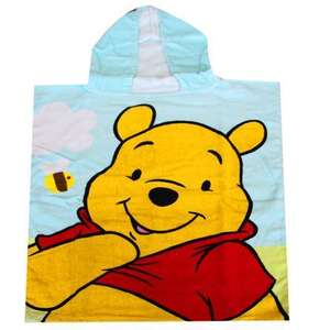 Kids Winnie The Pooh Hooded Towel Poncho £1.99 @ Dunelm Mill