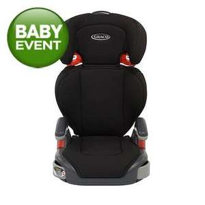 graco junior maxi seat was £25 in baby event now £15. brilliant seat. asda instore only