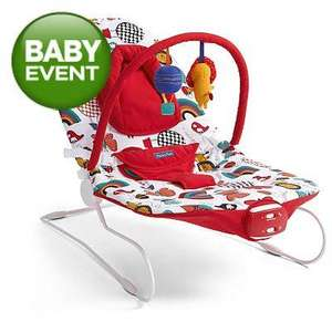 Mamas & Papas Buzz Bouncer Up In The Air - Reduced To £15.00 Click + Collect @ Asda
