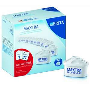 BRITA MAXTRA Water Filter Cartridges (Pack of 12) £25.99 delivered @ Amazon