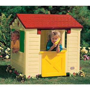 ASDA - Little Tikes Playhouse Natural - WAS £180 NOW £85