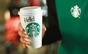 £5 for a £10 e-gift card for starbucks  with Barclaycard Bespoke Offers