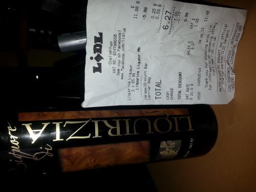 Liquorice liqueur £5.99 @ Lidl