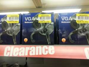 Tesco VGA webcam £0.20 at Tesco Homeplus