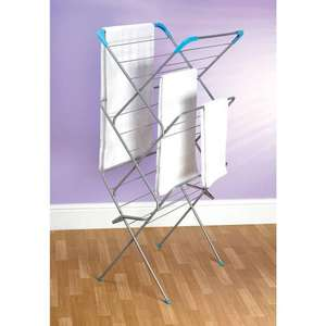 Laundry Airer With Sock Dryer 3 Tier 14m £10 at Wilkinson