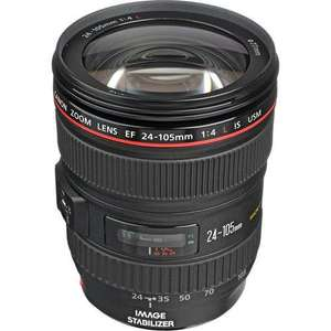 Canon EF 24-105mm f/4 F4 L IS USM EOS Zoom Lens for £569 @ eBay (pixel_deals), on amazon £819.95