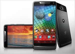 Motorola RAZR i .... £259.99 Incl Top Up .... Potentially £13.17 TCB Cashback @ Three