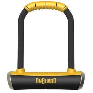 Magnum ONGUARD Brute LK8001 Sold secure bicycle Gold rated D-lock (New 2013 model) £23.94 @Woollyhatshop (via Amazon or ebay)