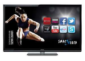 "Panasonic TX-P50GT50B  50"" Freeview/Freesat HD TV - £719.99 inc delivery @ Bennetts Online (John Lewis will price match)"