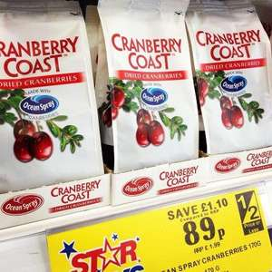 Ocean Spray Cranberry Coast Dried Cranberries 470g -  at Home Bargains