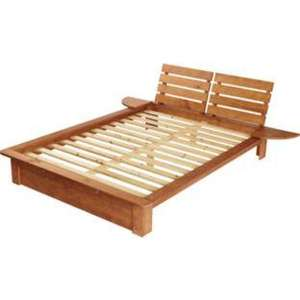 Nordic pine double bed frame argos for Bed frame deals