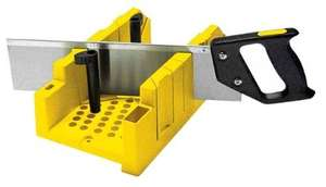 Stanley Clamping Mitre Box and Saw 1 20 600, Only £7.09 Delivered @ Amazon