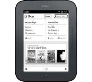 Nook Simple Touch £29.99 is back in stock @ Sainsbury's!