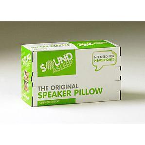 sound asleep speaker pillow @ asda direct - £7.50