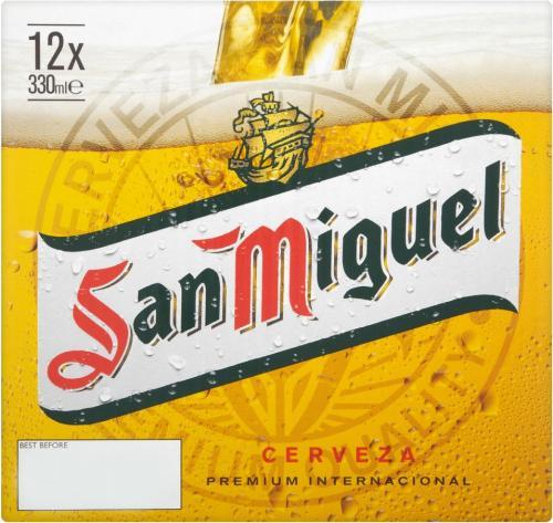 San Miguel Premium Lager - 12 Bottles £7.29 @ lidl