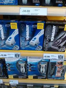 Toni & Guy Electric Shavers £12 in-store Tesco Bulwell Extra