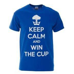 Keep calm and win the cup... Wigan Athletic official T-Shirt £13.48 Delivered