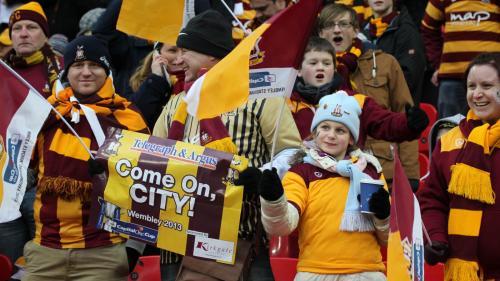 Play off final League Two Wembley £26  @bradfordcityfc