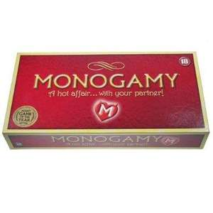 MONOGAMY Adult Board Game £5.94 FREE delivery Amazon