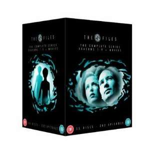 The X Files Complete Box Set DVD  (New Packaging - 55 Discs) £45.44 @ Amazon