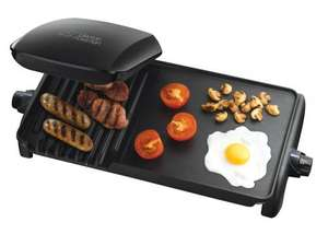 George Foreman 18603 Grill and Griddle, £44.92 Delivered @ Amazon