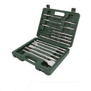 Silverline 196570 15 Piece SDS+ Drill and Steel Set - Now £8.74 at Amazon