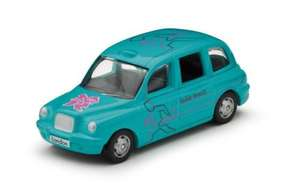 Corgi London 2012 table tennis taxi 1p INSTORE  @ WH Smith