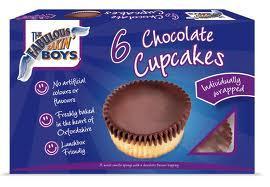 The Fabulous Bakin' Boys Chocolate Cupcakes (6 Pack) - 75p @ Sainsbury's