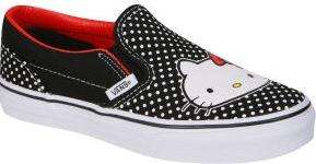Vans Kids' Classic Slip-on Hello Kitty Trainers £12 @ Thehut.com