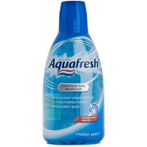 Aquafresh Mouthwash £1 Poundworld