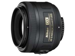 Nikon AF-S DX 35mm f1.8G Lens £99.99 @ Amazon