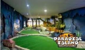 Paradise island adventure Golf £10 family ticket @ hallamfm offers