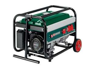 Petrol Generator - 230V - Four Stroke - Plus 3Yrs Warranty! £179.99 @ Lidl