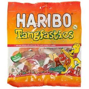 Haribo  Tangfastics ONLY 50p a pack plus others (Strawbs, Starmix etc)  @ Morrisons