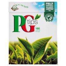 Pg Tips Pyramid 160 Teabags 500G £2.50 @ Tesco